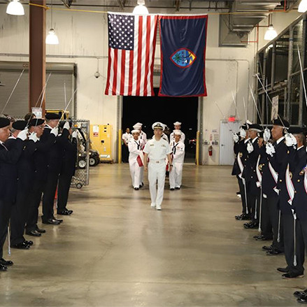 Knights in Guam honor a long-lost sailor finally laid to rest