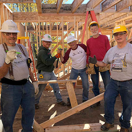 Alaska council builds homes with Habitat for Humanity