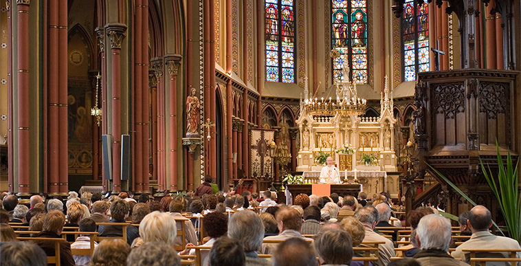 6 Ways You Might Be Annoying People At Mass